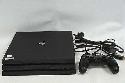 AU339.95 • Buy Sony PS4 Pro 1TB Console With Accessories - PlayStation 4 Jet Black - CUH-7202B
