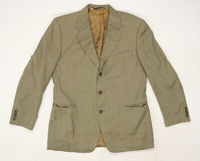 £12 • Buy Canali Mens Beige Geometric Rayon Jacket Suit Size 52