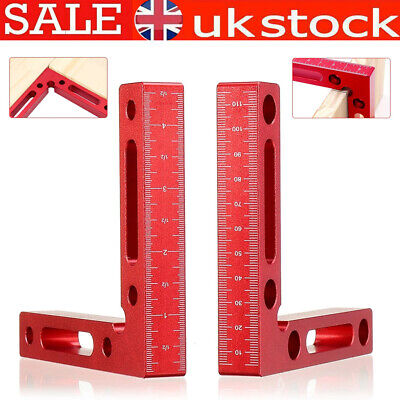 £16.88 • Buy 90° Positioning Squares Right Angle Clamp 3D Woodworking Ruler Carpenter Tool UK