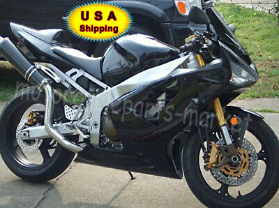 $388.98 • Buy For Kawasaki Ninja ZX6R ZX636C 03 04 Motor Injection Bodywork Fairing Gloss Blk