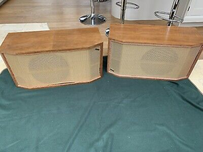 Vintage Wharfedale W3 Speakers In Excellent Condition • 74.99£