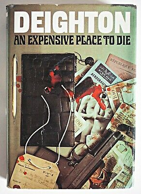 £50 • Buy Len Deighton 'An Expensive Place To Die' First UK Edition Inc Secret Docket 1967