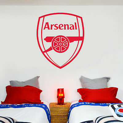 £19.99 • Buy Arsenal FC One Colour Crest Wall Sticker + Arsenal Decal Set
