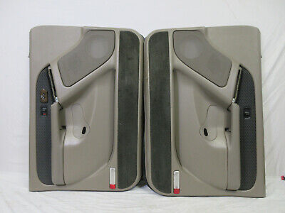 $249.95 • Buy 03-06 Chevy Avalanche Door Panel L&R TAN Silverado Power Window/lock Pedal Adjus