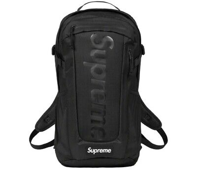 $ CDN249.96 • Buy Supreme Backpack Black Os (ss21) (in Hand) Brand New Sealed Authentic