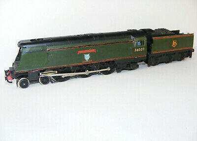 Hornby Uk Made Modified Re Named West Country Salisbury Added Detail Oo Asl • 69.99£