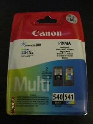 Canon PG-540/CL-541 Ink Cartridge Multipack - Black, Colour, New,  • 17£