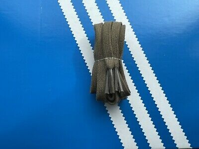 £9.99 • Buy Adidas Original Flat Laces In Olive-1 Pair-100% Authentic-Width 8mm Length 121cm