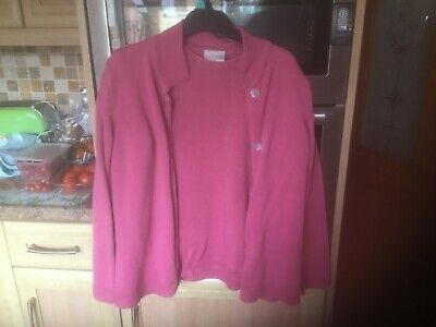 Ladies Matching Top & Cardigan By Cotswold Collections, Size S • 3.50£