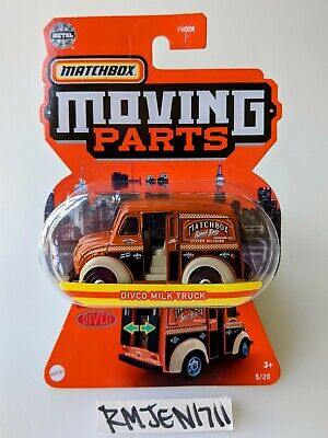 $2.35 • Buy Matchbox Moving Parts 2021 Brown Divco Milk Truck *READ*