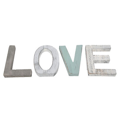 £10.78 • Buy Large Wooden Block Letters Word Alphabet Wall Hanging Family Home Decoration