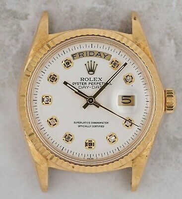 $ CDN4205.42 • Buy Vintage Rolex Day-Date President Wristwatch Ref. 1803 18kt Yellow Gold AS-IS NR