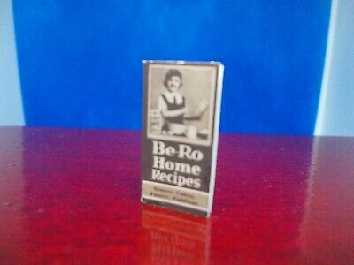 Be Ro Brown Home Recipe Book With Blank Pages Inside Pages For A Dolls House • 3.50£