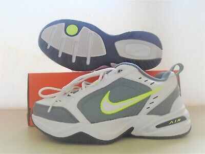 AU13.10 • Buy New Nike Air Monarch White Grey Volt  Running Shoes Sz 11.5 Clearance