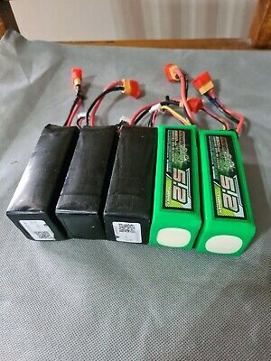 AU99 • Buy 5x 3s Lipo Battery 5200mah Walkera QRX350