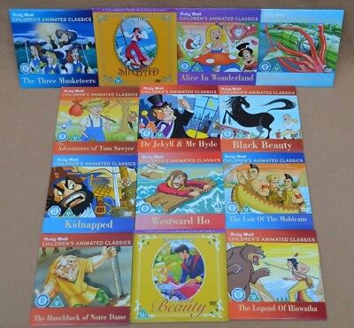 £12 • Buy Childrens Animated Classic Films 13 Dvds