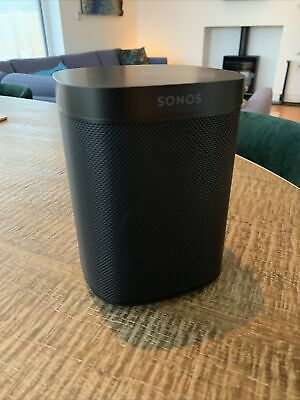 AU201.96 • Buy Sonos One SL Wireless Speaker - Black