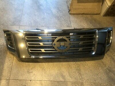 Fit Front Grille Grille Chrome For Fit Nissan Navara NP300 2015 2016 2017 18 On • 28£