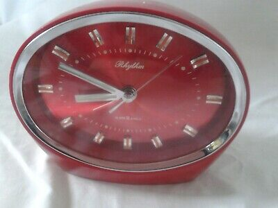 Super Cool Rhythm 1970s Alarm Clock. Vintage Collectors Item. • 30£