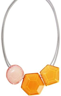 AU84.59 • Buy ZSISKA New 'PLAYA' Collection Beautiful Three Bead Faceted Necklace