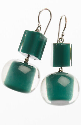 AU28.80 • Buy ZSISKA Colourful Beads Collection Lovely Green Hook Earrings
