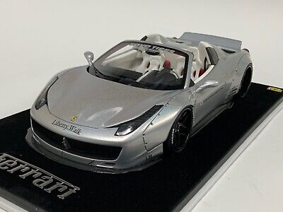 1/18 Ferrari 458 Spider Liberty Walk LB Performance Chameleon White N BBR Or MR • 94.94£