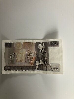 Bank Of England Old £10 Ten Pound Note - Florence Nightingale • 6.59£