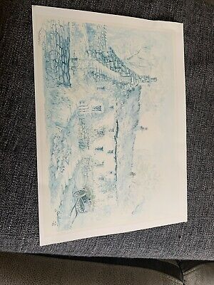 Unframed Signed John Hassall Painting No. 436/850 • 10£