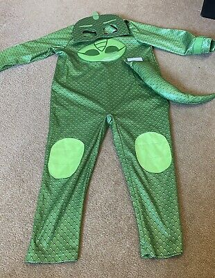 Green Gecko Pj Masks Costume Aged 3-4 • 2.99£