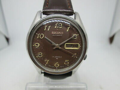 $ CDN12.54 • Buy Vintage Seiko 7009 Arabic Dial Daydate Stainless Steel Automatic Mens Watch