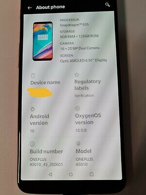 AU100 • Buy OnePlus 5T A5010 - 128GB - Red Smartphone