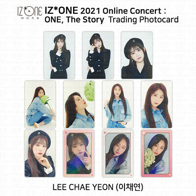 $ CDN18.13 • Buy IZ*ONE 2021 One The Story Online Concert Trading Card Photocard Lee Chaeyeon