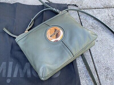 AU52 • Buy MIMCO Couch Hip Cross Body Bag, Moss Green/Gold