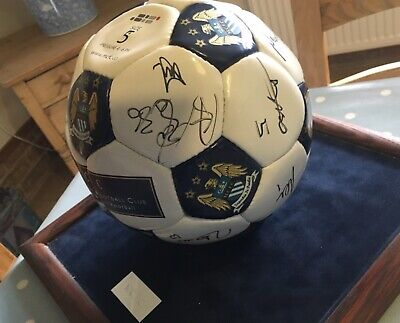 £80 • Buy Signed Manchester City Official Signed Football