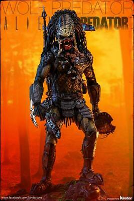 $ CDN701.32 • Buy USED 1/6 Hot Toys Aliens Vs Predator AVP Requiem Wolf Predator Heavy Weapon MMS