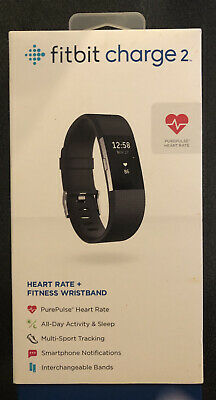 AU38.64 • Buy Fitbit Charge 2 Lavender Large Band With Box Fitness Tracker Heart Rate Monitor
