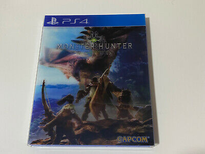 AU26.54 • Buy Juego MONSTER HUNTER WORLD Para PS4 Español Carátula Lenticular