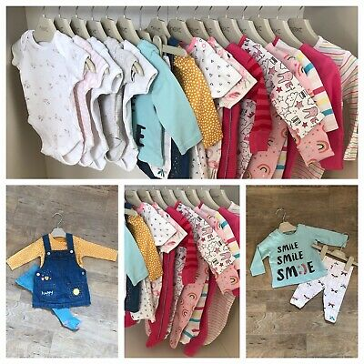 AU17.77 • Buy Beautiful Baby Girls Clothes Bundle 0-3 Months