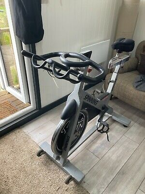 STAR TRAC Home Spinning Spinner Bike Used Adjustable Seat / Gel Seat • 118£