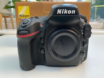 View Details Nikon D800 36.3MP Digital SLR Camera Body - Great Condition - Boxed • 550.00£