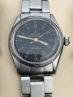 $ CDN645 • Buy Rolex Oyster Speedking 6431 Vintage Excellent Condition Midsize 30mm Watch