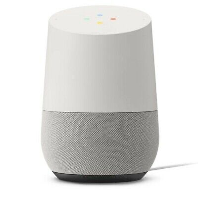 AU39.34 • Buy Google Home - Smart Speaker & Google Assistant, Light Grey & White
