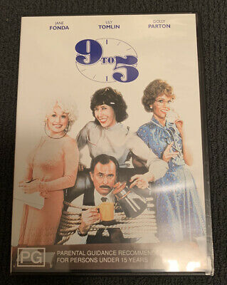 AU20 • Buy 9 To 5 DVD Pal Region 4 Dolly Parton Collectable OOP Rare