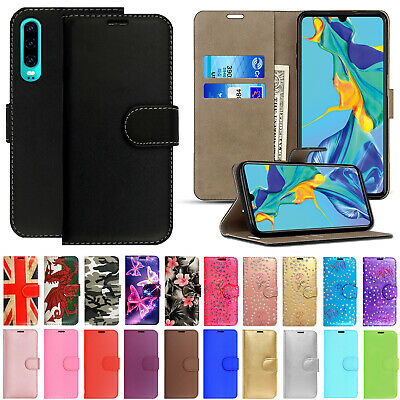 £2.95 • Buy Case For Huawei P30 Pro P20 Mate 20 Leather Flip Wallet Stand Card Phone Cover
