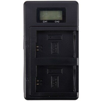 Np-Fw50 Camera Battery Charger Npfw50 Fw50 Lcd Usb Dual Charger For A6000 5000 5 • 8.83£