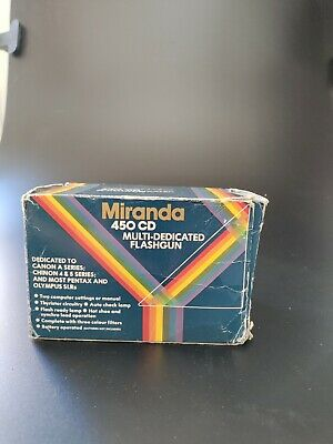 Miranda 450CD With £3 Coloured Gels • 8.99£