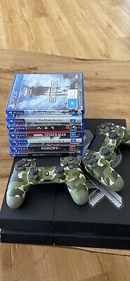 AU370 • Buy Ps4 1 TB With Two Controllers And 9 Games