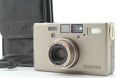 $ CDN2249.52 • Buy 【N.MINT W/Case】CONTAX T3 Silver Titan Point & Shoot 35mm Film Camera From Japan
