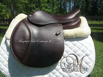 $ CDN3736.43 • Buy 15/15.5  CWD SE19 Child Pony Close Contact Jumping Saddle 1L Flap-MINT CONDITION