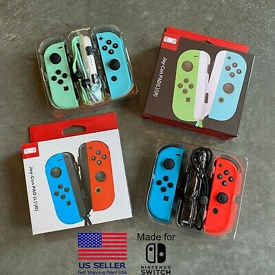 $49.95 • Buy For Nintendo Switch Joy-Con (L/R) With Straps Wireless Controller Gamepad NS
